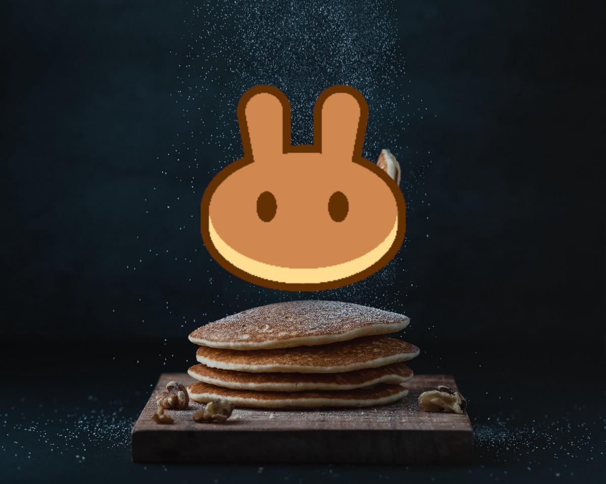 Decorative PancakeSwap Passive Income Title Image